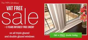 Interest Free and VAT Free Windows, Doors and Conservatories @ MPN Windows