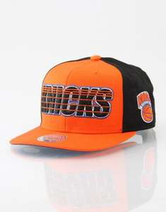 Mitchell & Ness NBA NY Knicks Linear Snapback Cap £1 plus £3.99 P&P @ Route One