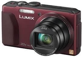 Panasonic Lumix DMC-TZ40 Compact Digital Camera Red (20 x digital zoom, 18.1MP) - £186.89 @ Buyacamera