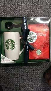 Starbucks Christmas Mug and coffee set £2 @ Sainsburys