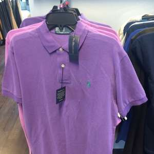Ralph Lauren Men's relaxed fit and Ladies Polo shirt £20 @ tkmaxx