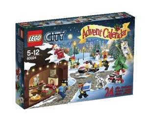 LEGO City 60024 Advent Calendar £9.99 Delivered @ Amazon