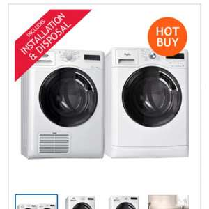Washing machine and dryer - £699.99 @ Costco