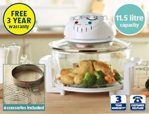 Halogen Oven with 3 yr warranty - 17 ltr - @ Aldi for £24.99