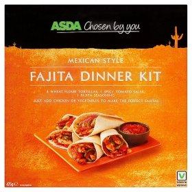 ASDA Fajita/Nachos/Burrito/Enchilada Dinner Kits