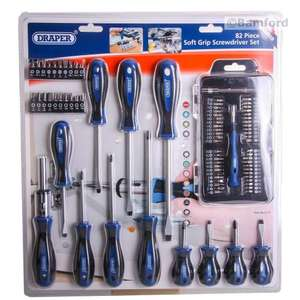 Draper Screwdriver Set 82 Piece Ratchet Bit Set Only £12.00 Delivered @ Toolstation,Was £49.10