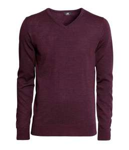 100% Merino wool mens jumper + iphone 4 case only £6 delivered at H&M with codes 1055 & 1304