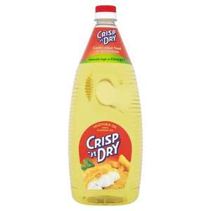 Crisp 'N Dry Vegetable Oil 2L £2.00 (£1.00/Litre) @ Asda or Tesco