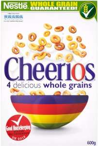 Nestle Cheerios (600g) Was £3.19 Now £1.59 @ Sainsbury's