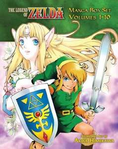 The Legend of Zelda Manga Box Set 1-10 £29.89 @ Amazon