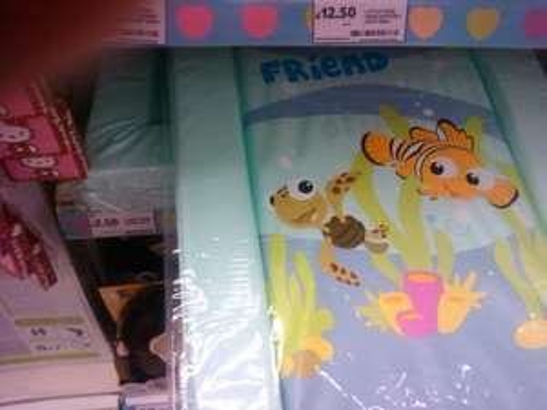 Finding Nemo changing mat - £2.50 instore @ Tesco