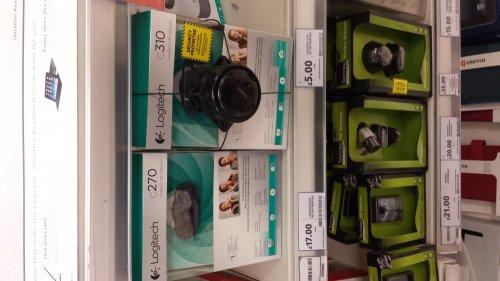 Logitech C310 HD webcam - £5 instore @ Tesco