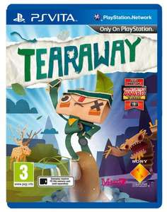 Tearaway (PS Vita) £18.07 @ Amazon / £16.74 via Cash Converters/Amazon
