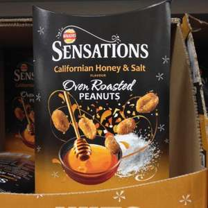 Sensations Californian Honey & Salt Oven Roasted Peanuts 210G & Thai Sweet Chill Coated Peanuts £1.00 @ Tesco