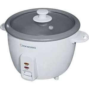 Cookworks 1.5 Litre Rice Cooker £9 @ Homebase