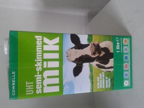 Semi skimmed long life milk 1 ltr - 55p @ ALDI