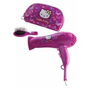 Hello Kitty 2000W Hair Dryer Gift Set @ Boots Instore - £10