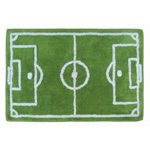 Asda Football Pitch Rug Was 9 Now 3 In
