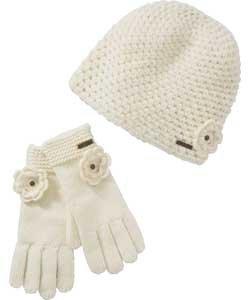 Billabong Women's Beanie and Gloves @ Argos - WAS £29.99 - NOW £4.99