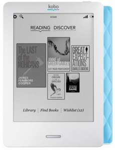Kobo Touch eReader - Black, Blue & Lilac - Back in Stock! RRP £89.99 £29.99 @ whsmith