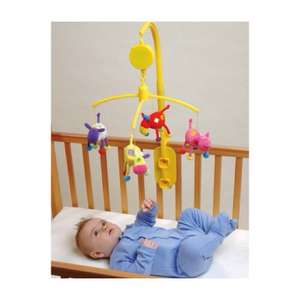 Galt Toys Farm Friends Mobile, Suitable From Birth, Wind Up Music Box & Rotates  - Reduced from £18.99 to £8.95 from Precious Little One.