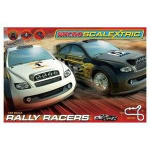 Rally racers micro Scalextric G1100 £20.00 @ Tesco Direct