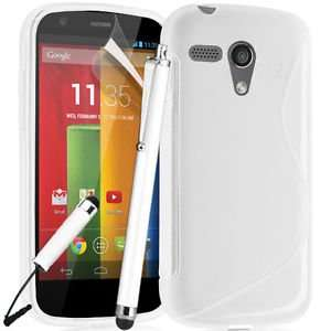 Motorola Moto G White S Line case + Stylus + Screen Protector  99p @ Ebay /Carestia Accessories