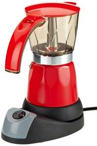Electric moka pot, £25 delivered from Germany, five star reviews on Amazon