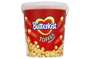 Butterkist sweet popcorn tub reduced from £2 to 25p in store @ Wilkinsons