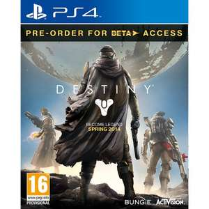 DESTINY PS4/XBOX ONE PRE-ORDER £44 ASDA DIRECT (WITH CODE)