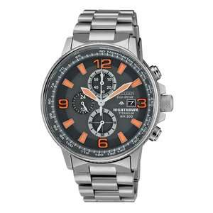 CITIZEN ECO-DRIVE NIGHTHAWK TITANIUM CHRONOGRAPH MEN'S WATCH at Beaverbrooks: £223.20 with code