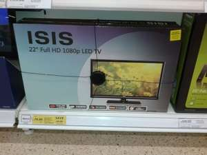 "ISIS 22"" 1080p HD LED TV WITH FREEVIEW £50 OFF! £79 @ Tesco"
