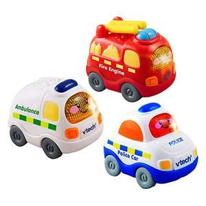 VTech baby Toot Toot Drivers Emergency Vehicles - £6.50 @ John Lewis