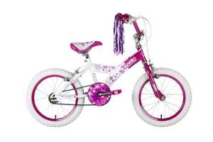 Sonic Glamour Girls Bike - White/Pink, 16 Inch £59.99 @ Amazon