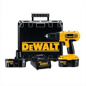 DeWalt DC970K2 Drill Driver 18v 2 x 1.3Ah NiCd Batteries and Free Stanley Powerlock Tape Measure £83.77 Delivered @ MyToolShed
