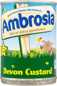 Ambrosia Devon Custard 2 for £1.00 @ Farmfoods