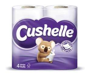 COSTCO - 10 x 4 pack of Cushelle white toilet rolls £9.94 incl VAT