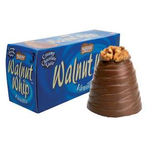 Tesco in store 6 pack Walnut Whips 75p