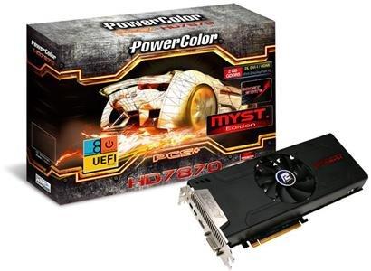 PowerColor Radeon Myst 7870 Tahiti LE £160 MSI 7850 £95 - Box.co.uk