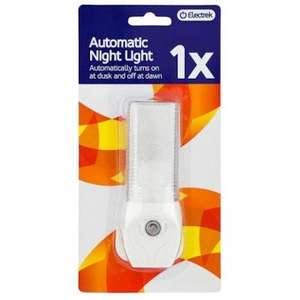 7 Watt automatic nightlight (mains) £1 at Poundland -Guess how Much !