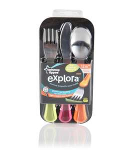 Tommee Tippee Explora First Grown Up Cutlery Set was £4.99 now £2.49 @Tesco