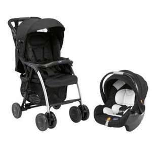 Chicco Simplicity Travel System with Keyfit Car Seat in Night Chicco Simplicity Travel System with Keyfit Car Seat in Night with free kids poncho @ £51.57 delivered @ Bambino direct
