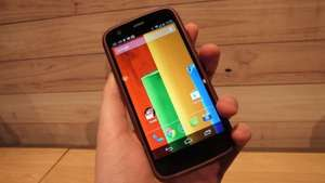 "Motorola Moto G 8GB, 4.5"" HD display, 24 month orange contract. 500 minutes unlimited texts and 250MB £11.99 per month @ mobileshop"