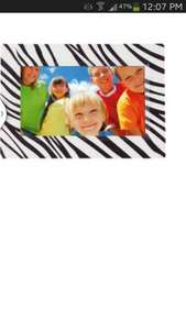 ColourMatch 7 Inch Digital Photo Frame - Zebra £14.99 at Argos.co.uk .