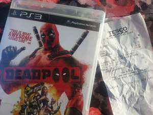 Deadpool PS3 sealed £3.75 @ Tesco instore