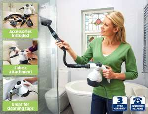 Portable Steam Cleaner £15.99 @ Aldi from 16th January