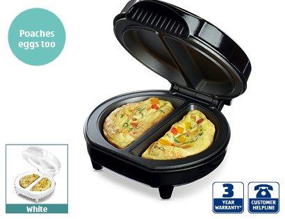 Omelette Maker £12.99 @ Aldi - From Sunday 12th Jan