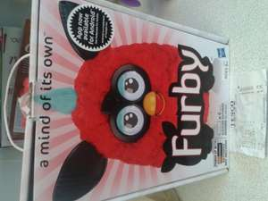 Furby Hot (Red) £2.50 tesco INSTORE !