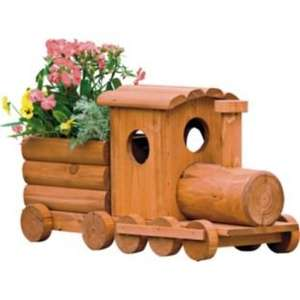 Wooden Train Garden Planter £12.99 @ Argos