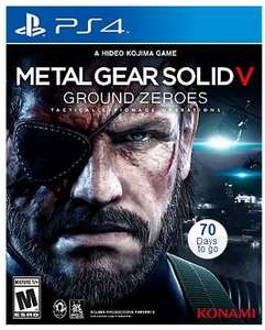 Metal Gear Solid V: Ground Zeros £25 PreOrder PS4\XB1 @AsdaDirect Online with Code